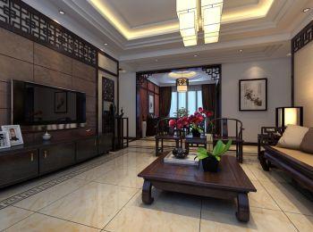 铂金汉宫中式风格装修效果图