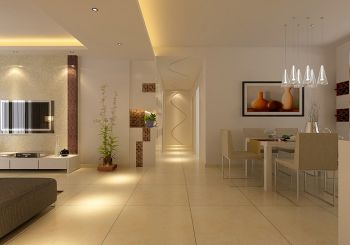 走廊简约风格装饰图片