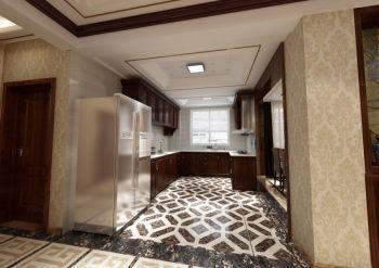 厨房地砖中式风格装修设计图片