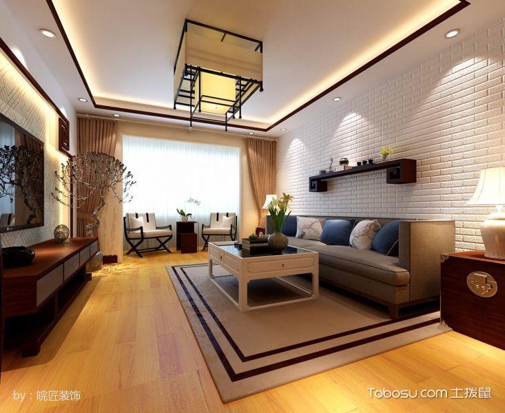 2021现代中式150平米效果图 2021现代中式套房设计图片