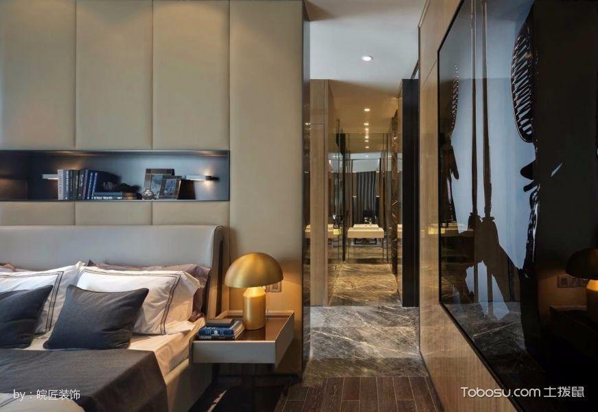 卧室黄色走廊现代风格装修设计图片