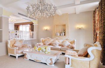 客厅沙发欧式风格装饰效果图