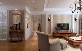 客厅走廊欧式风格装修设计图片
