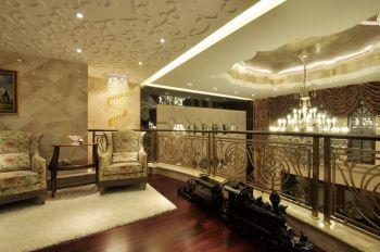 阁楼现代欧式风格装潢图片
