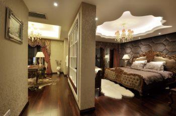 卧室隔断现代欧式风格装饰设计图片