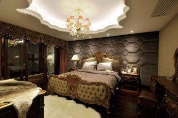 卧室吊顶现代欧式风格装潢设计图片