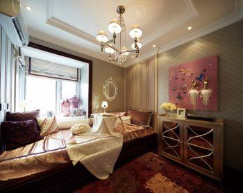 客厅飘窗欧式风格装潢图片