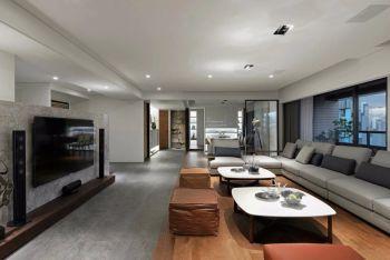 8.6万预算90平米两室两厅装修效果图