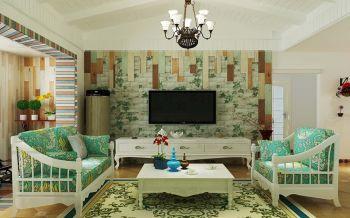 8万预算90平米两室两厅装修效果图