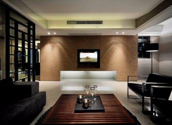 客厅背景墙古典风格装潢图片