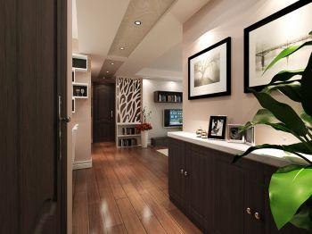 玄关现代简约风格装潢设计图片