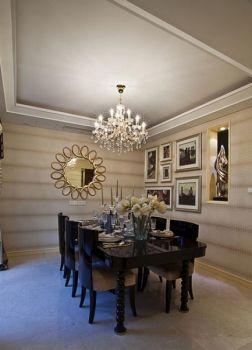 餐厅吊顶现代欧式风格装饰设计图片