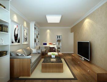 现代小户型一居室设计装修图