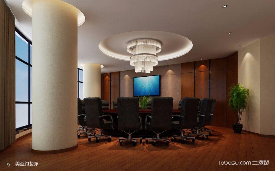 商业办公室会议室吊顶装潢图片