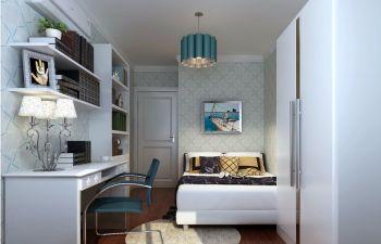 御龙湾现代简约风格三居室装饰效果图