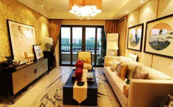 北岸琴森富贵典雅混搭风三居室装修图片