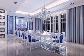 半岛豪庭新中式风格四居室装修效果图