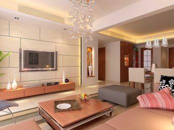 百合公寓秋月苑现代简约风格装修效果图