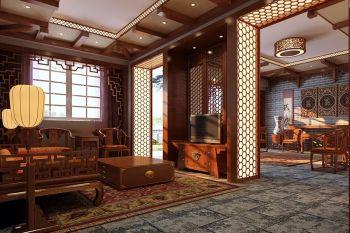 中式古典复式家居装修图片
