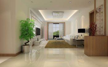 现代简约三居室设计图片