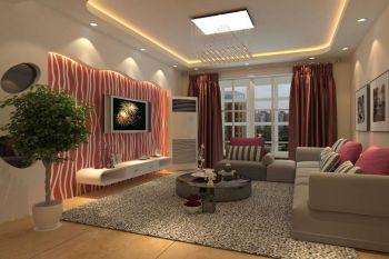 现代简约风格时尚二居室装修设计效果图