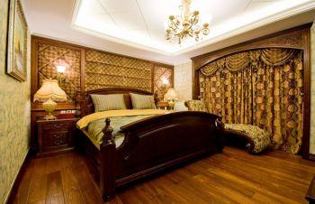 美式风格四居室装修案例实景图片