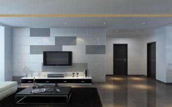 三居室家庭简约风格装修设计案例图