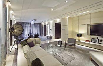 现代古典四居室装修图片