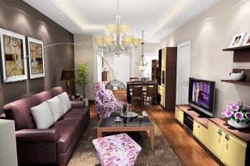 玉泉北里简约风格两居室设计图片