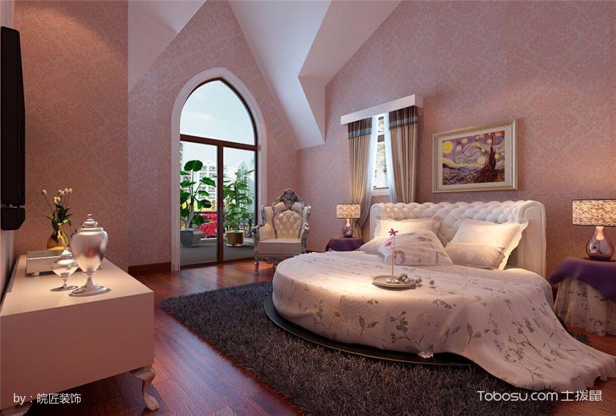 卧室 阁楼_内森庄园新古典风格别墅装修案例效果图