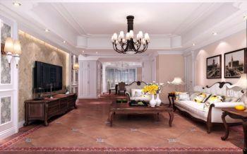 海棠湾浪漫简欧风格家居套房装饰效果图