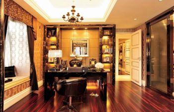 欧式风格四居室家庭装修样板房图片