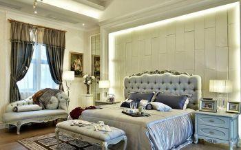 现代简欧风格三居室装修实景图