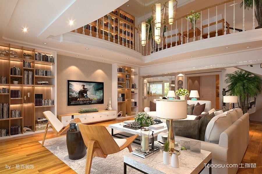 昆明新房装修财大康园290平米现代简约风格效果图
