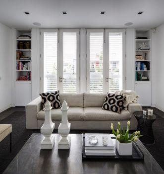绿地香颂混搭小面积家居装修效果图