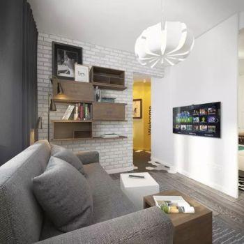 小户型简约一居室装修效果图