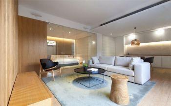 原木色简约设计两居室效果图