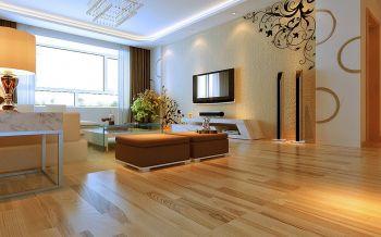 现代混搭休闲两居室设计效果图