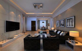 现代简约婚房设计效果展示图