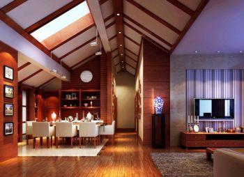 别墅家居中式装修效果图欣赏