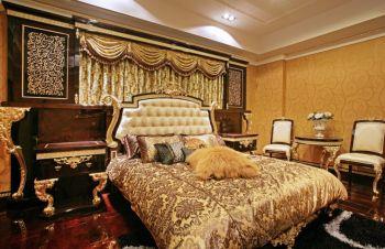 奢华现代欧式四居室案例图片
