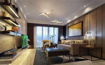 混搭简约二居室装修案例图