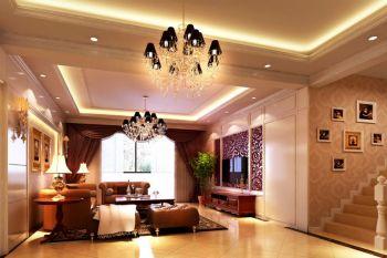 古典风格奢华复式楼装修效果图