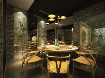 醉江南中式餐饮室内装修效果图