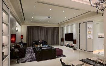 三居室装修现代古典风效果图
