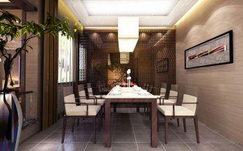 钻石山现代中式豪华装修效果图