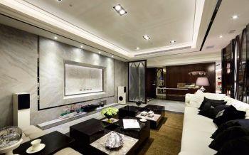 怡翠尊堤现代欧式三居室装修效果图
