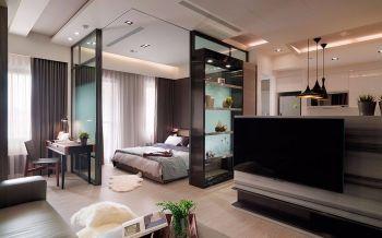 简约一居室舒适案例效果图
