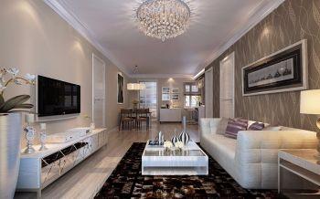 2020现代简约80平米设计图片 2020现代简约三居室装修设计图片