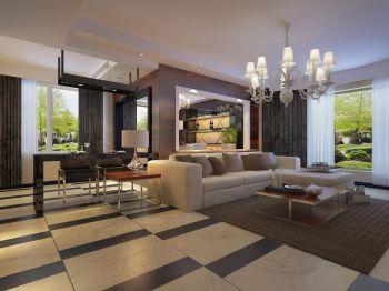 90平三房现代简约设计效果图